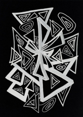 Кристаллическая живопись: Кристаллическая линия: Алмаз (Diamond)