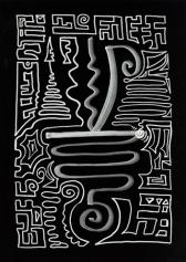 Кристаллическая живопись: Кристаллическая линия: Цитрин (Citrine)