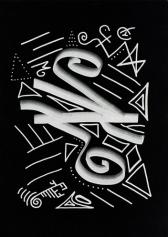 Кристаллическая живопись: Кристаллическая линия: Содалит (Sodalite)